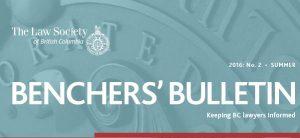 Bencher's Bulletin